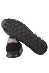 Fitbas 914352 015 Erkek Siyah Deri Büyük Numara Ayakkabı - Thumbnail