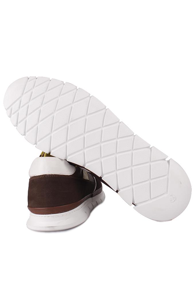 Fitbas 914352 232 Erkek Kahve Deri Büyük Numara Ayakkabı