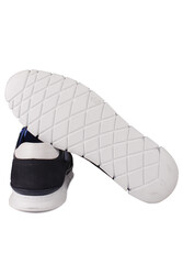 Fitbas 914352 418 Erkek Lacivert Deri Büyük Numara Ayakkabı - Thumbnail