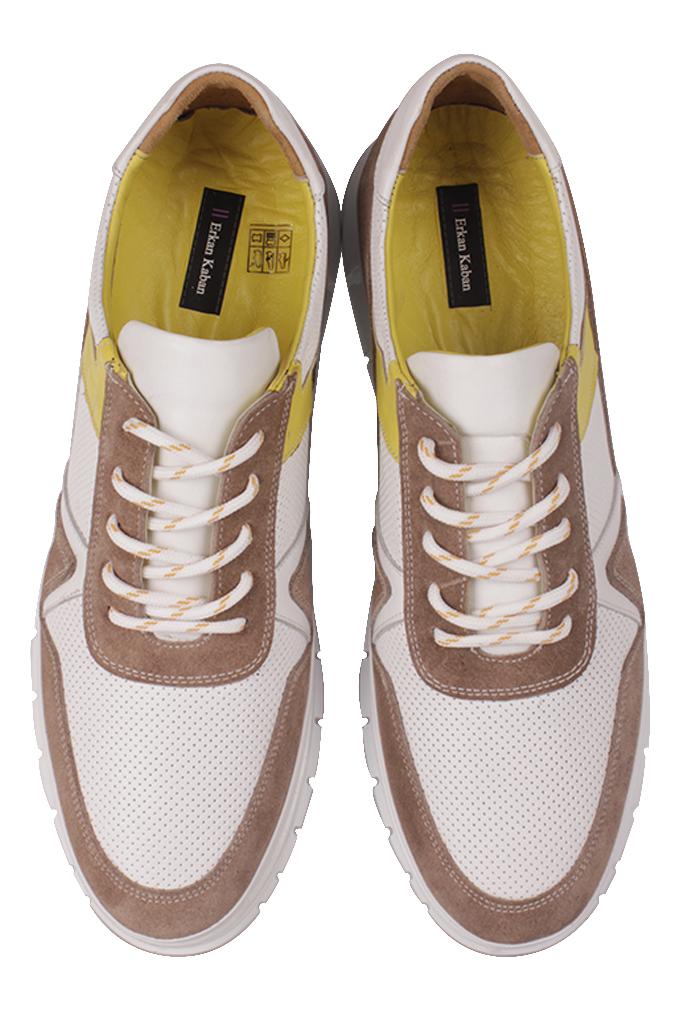 Fitbas 914352 468 Erkek Beyaz Deri Büyük Numara Ayakkabı