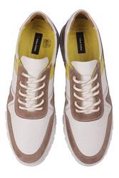 Fitbas 914352 468 Erkek Beyaz Deri Büyük Numara Ayakkabı - Thumbnail