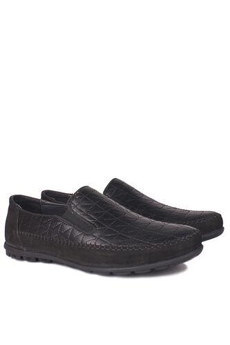 Fitbas - Fitbas 914356 015 Erkek Siyah Deri Büyük Numara Ayakkabı (1)