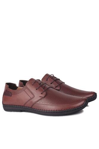 Fitbas - Fitbas 914376 167 Erkek Taba Deri Büyük Numara Ayakkabı (1)