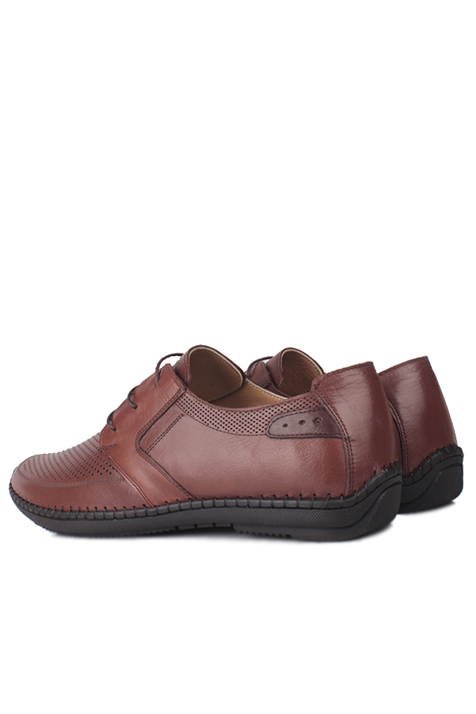 Fitbas 914376 167 Erkek Taba Deri Büyük Numara Ayakkabı