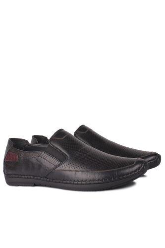 Fitbas - Fitbas 914377 014 Erkek Siyah Deri Büyük Numara Ayakkabı (1)