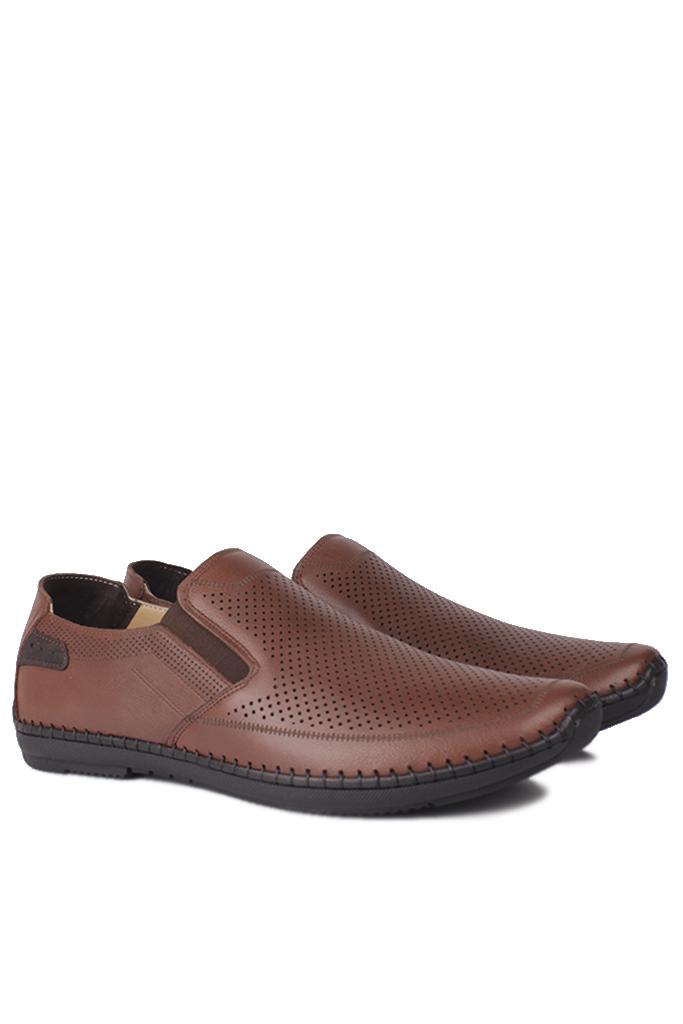 Fitbas 914377 167 Erkek Taba Deri Büyük Numara Ayakkabı