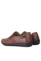 Fitbas 914377 167 Erkek Taba Deri Büyük Numara Ayakkabı - Thumbnail
