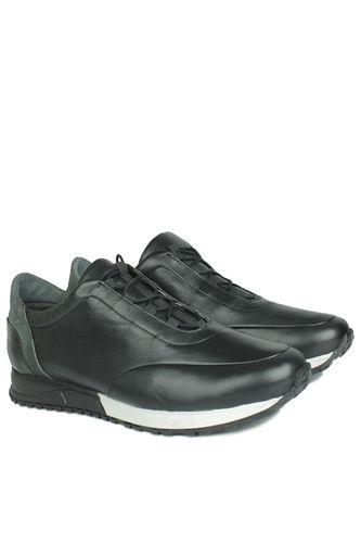 Fitbas - Fitbas 914510 014 Erkek Siyah Deri Spor Büyük Numara Ayakkabı (1)