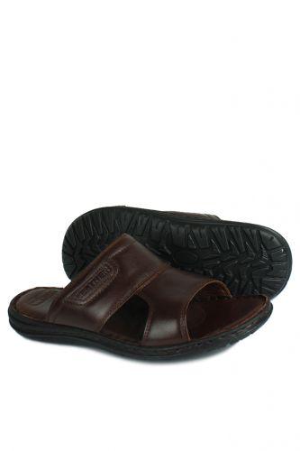 Fitbas - Kalahari 850182 232 Men BrownKhakiki Genuine Leather Sandal (1)