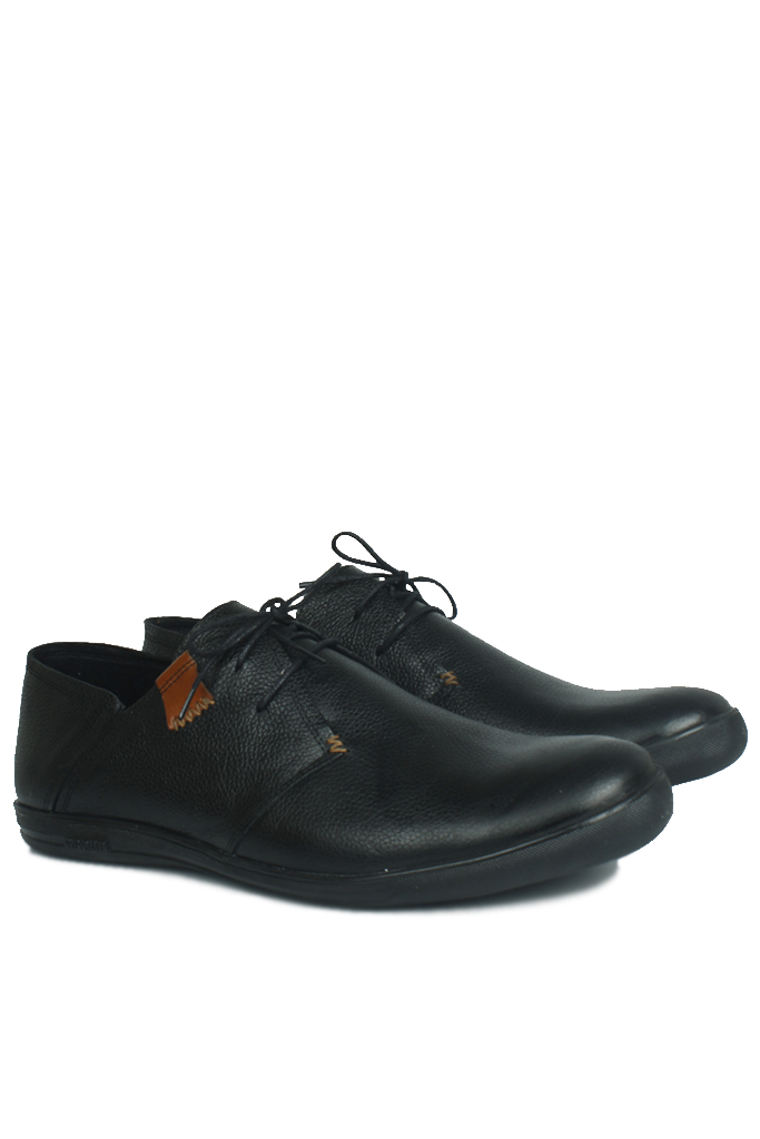 Fitbas 850984 013 Erkek Siyah Deri Büyük Numara Ayakkabı