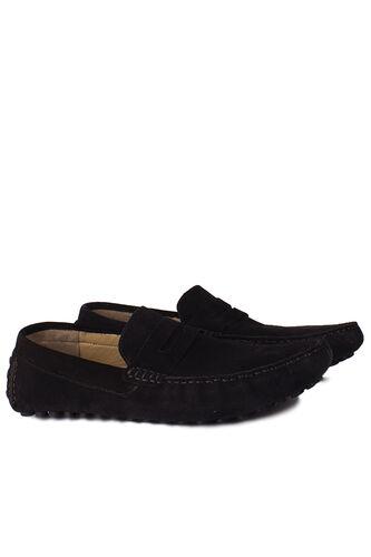 Fitbas - Fitbas 852221 008 Erkek Siyah Süet Büyük Numara Loafer (1)