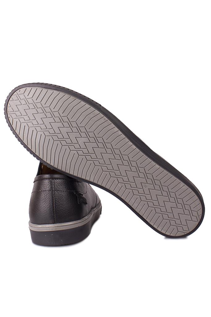 Fitbas 852702 013 Erkek Siyah Deri Büyük Numara Ayakkabı