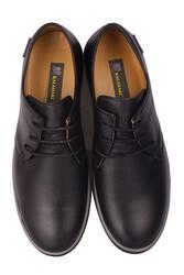 Fitbas 852702 013 Erkek Siyah Deri Büyük Numara Ayakkabı - Thumbnail