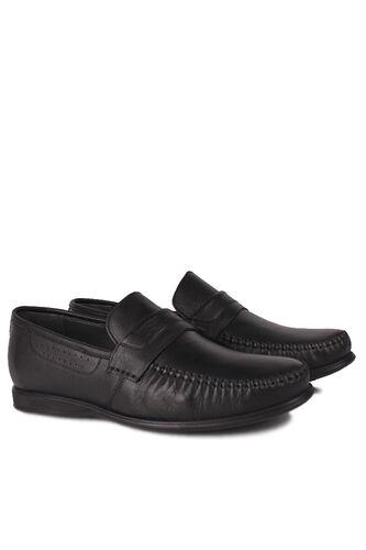 Kalahari - Kalahari 914375 014 Erkek Siyah Deri Büyük Numara Ayakkabı (1)