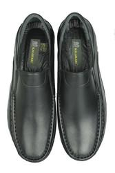 Fitbas 914400 014 Erkek Siyah Deri Kışlık Büyük Numara Ayakkabı - Thumbnail