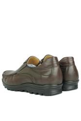 Fitbas 914400 314 Erkek Kahve Deri Kışlık Büyük Numara Ayakkabı - Thumbnail