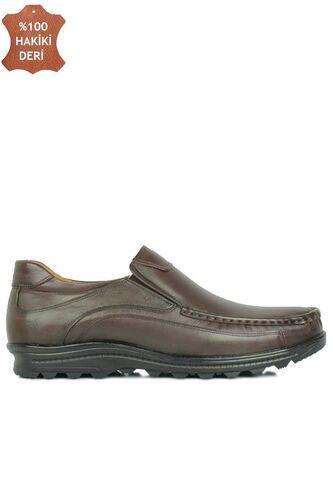 Fitbas 914400 314 Erkek Kahve Deri Kışlık Büyük Numara Ayakkabı