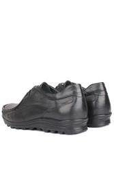 Fitbas 914401 014 Erkek Siyah Deri Kışlık Büyük Numara Ayakkabı - Thumbnail