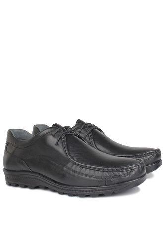 Kalahari - Kalahari 914401 014 Erkek Siyah Deri Kışlık Ayakkabı (1)