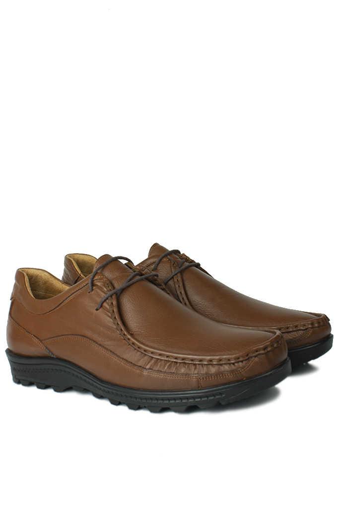 Fitbas 914401 167 Erkek Taba Deri Kışlık Büyük Numara Ayakkabı