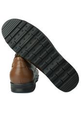 Fitbas 914401 167 Erkek Taba Deri Kışlık Büyük Numara Ayakkabı - Thumbnail