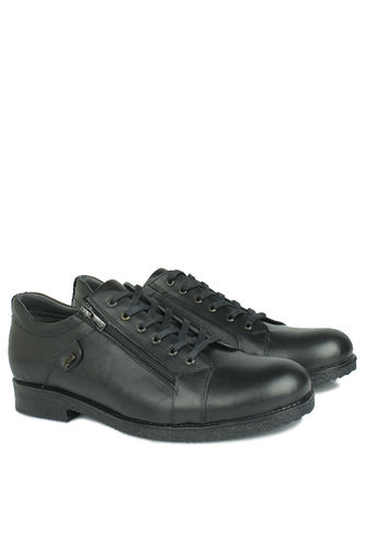 Fitbas - Kalahari 914402 014 Men Black Genuine Leather Winter Shoes (1)