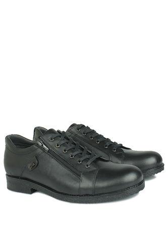 Kalahari - Kalahari 914402 014 Erkek Siyah Deri Kışlık Ayakkabı (1)