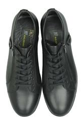 Kalahari 914402 014 Erkek Siyah Deri Kışlık Büyük Numara Ayakkabı - Thumbnail