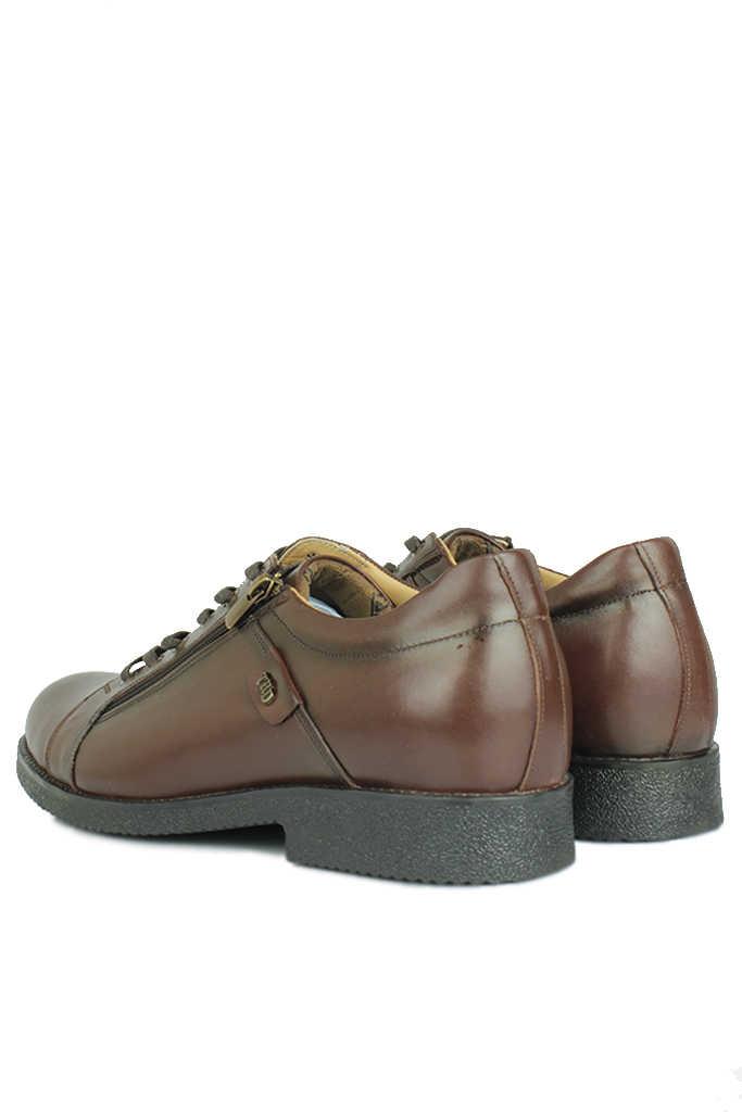 Fitbas 914402 317 Erkek Kahve Deri Kışlık Büyük Numara Ayakkabı