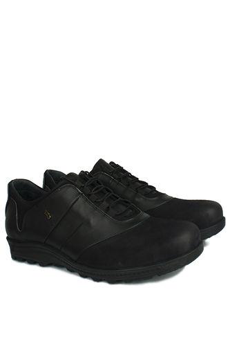 Fitbas - Fitbas 914405 014 Erkek Siyah Deri Kışlık Büyük Numara Ayakkabı (1)