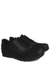 Kalahari 914405 014 Erkek Siyah Deri Kışlık Ayakkabı - Thumbnail