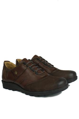 Kalahari - Kalahari 914405 032 Erkek Kahve Deri Kışlık Ayakkabı (1)