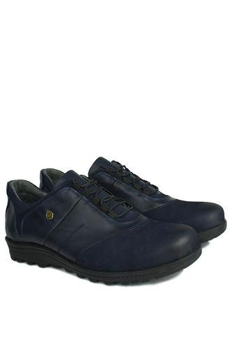 Fitbas - Fitbas 914405 424 Erkek Lacivert Deri Kışlık Büyük Numara Ayakkabı (1)