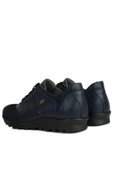 Fitbas 914405 424 Erkek Lacivert Deri Kışlık Büyük Numara Ayakkabı - Thumbnail
