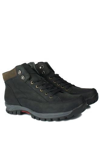 Fitbas - Kalahari 914462 015 Men Black Genuine Leather Boot (1)