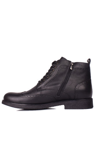 Fitbas - Kalahari 914464 014 Men Black Genuine Leather Boot (1)