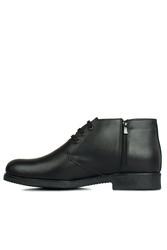 Fitbas 914560 014 Erkek Siyah Deri Kışlık Büyük Numara Ayakkabı - Thumbnail