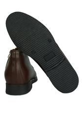 Kalahari 914560 032 Erkek Kahve Deri Kışlık Ayakkabı - Thumbnail