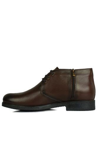 Fitbas - Fitbas 914560 032 Erkek Kahve Deri Kışlık Büyük Numara Ayakkabı (1)