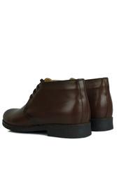 Kalahari 914560 032 Erkek Kahve Deri Kışlık Büyük Numara Ayakkabı - Thumbnail