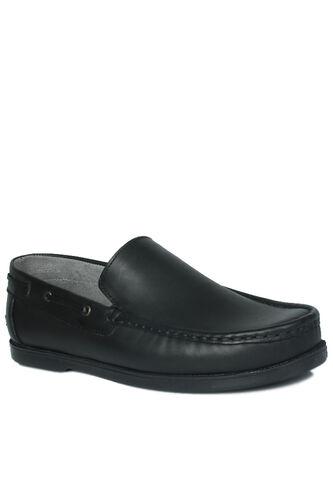 Fitbas - Fitbas 737000 014 Erkek Siyah Deri Günlük Büyük Numara Ayakkabı (1)