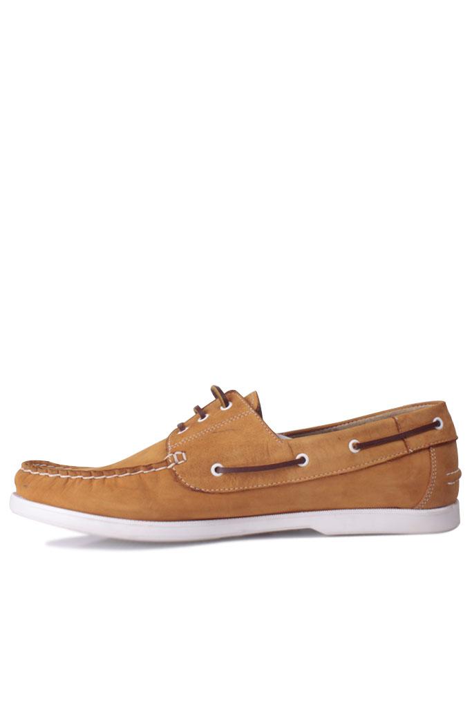 Kalahari 737001 122 Erkek Sarı Nubuk Günlük Ayakkabı