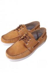 Kalahari 737001 122 Erkek Sarı Nubuk Günlük Ayakkabı - Thumbnail