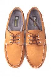 Fitbas 737001 122 Erkek Sarı Nubuk Günlük Büyük Numara Ayakkabı - Thumbnail