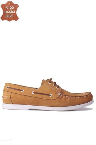 Fitbas 737001 122 Erkek Sarı Nubuk Günlük Büyük Numara Ayakkabı