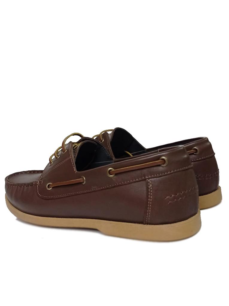 Fitbas 737001 232 Erkek Kahve Deri Günlük Büyük Numara Ayakkabı