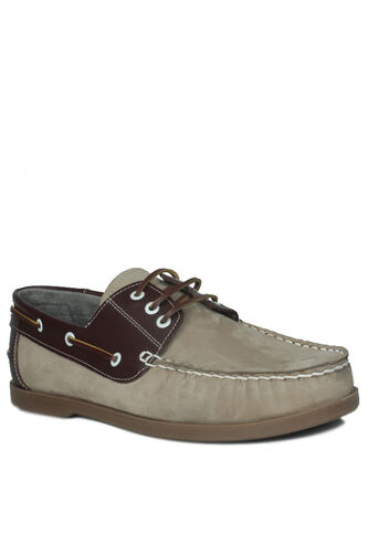Fitbas - Kalahari 737001 318 Men Bej Nubuck Casual Shoes (1)