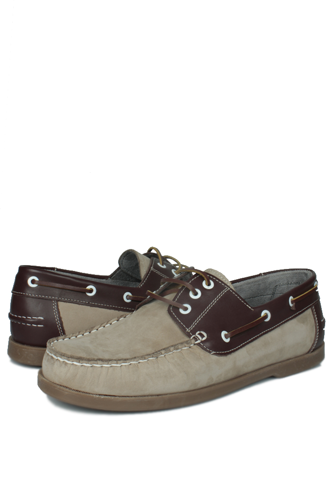 Fitbas 737001 318 Erkek Bej Nubuk Günlük Büyük Numara Ayakkabı
