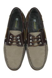 Fitbas 737001 318 Erkek Bej Nubuk Günlük Büyük Numara Ayakkabı - Thumbnail