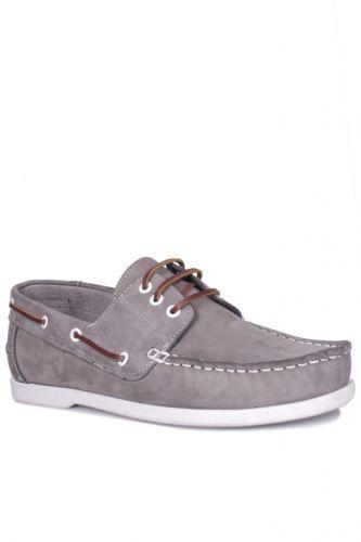 Kalahari - Kalahari 737001 515 Erkek Gri Nubuk Günlük Ayakkabı (1)